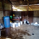 The Water Project: Mumias Central Primary School -  Water Storage In Kitchen