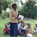 The Water Project : 13-kenya4720-wewasafo-staff-jacqueline-shigali-facilitates-at-the-training