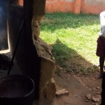The Water Project: Bukura Primary School -  Older Pupils Line Up At Kitchen
