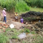 The Water Project: Emakaka Community -  Construction