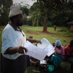 The Water Project: Mahanga Community -  Joseph Agofya Sharing At The Training