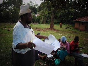 The Water Project : 14-kenya4720-joseph-agofya-sharing-at-the-training