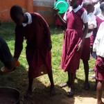 The Water Project: Bukura Primary School -  Getting Served Lunch