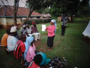 The Water Project:  Josephine Mugeha At The Training