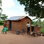 The Water Project: Kivani Community A -  Household