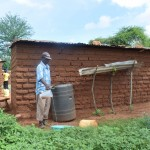 The Water Project: Ikulya Community A -  Household Rainwater