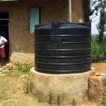 The Water Project: Bukura Primary School -  Smaller Plastic Tank