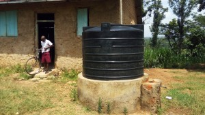 The Water Project:  Smaller Plastic Tank