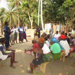The Water Project: Petifu Junction Community -  Training