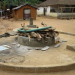 The Water Project: Petifu Junction Community -  Opening The Well