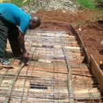 The Water Project: Ebusiloli Primary School -  Latrine Construction