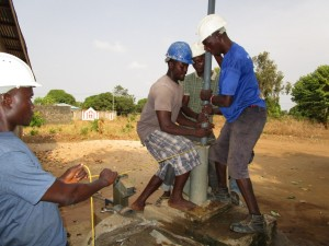 The Water Project:  Work Beginning