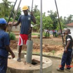 The Water Project: Tombo Bana Community -  Drilling