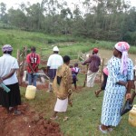 The Water Project: Mahanga Community -  Demonstrations At The Spring