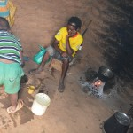 The Water Project: Kivani Community -  Household Kitchen