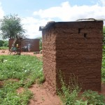 The Water Project: Ikulya Community -  Household Latrine