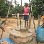 The Water Project: Ponka Village -  Flushing