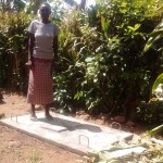 The Water Project: Elukho Community -  Sanitation Platform