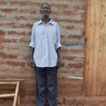 The Water Project: Ikulya Community A -  Household Joseph Kitheka