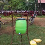 The Water Project: Bukura Primary School -  Hand Washing Stations