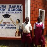 The Water Project: Bukura Primary School -  School Sign