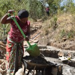 The Water Project: Ilinge Community A -  Well Construction