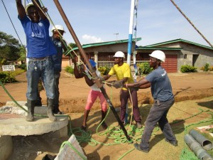 The Water Project : 21-sierraleone5110-drilling