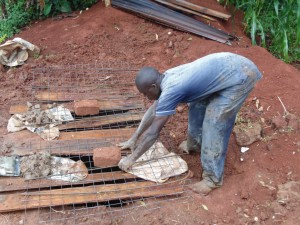 The Water Project : 22-kenya4720-sanitation-platform-construction