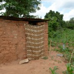 The Water Project: Kivani Community A -  Household Latrine
