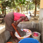 The Water Project: Rosint Community, 16 Gilbert Street -  Doing Laundry