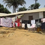 The Water Project: Rosint Community, 16 Gilbert Street -  Clothesline