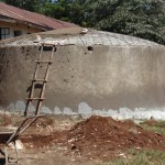 The Water Project: Ebusiloli Primary School -  Tank Construction