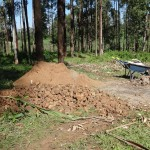 The Water Project: Murumba Community -  Construction Materials
