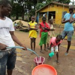 The Water Project: Malokoh Community, #4 Mabesseneh Road -  Flushing