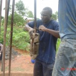 The Water Project: Sumbuya Community, Quarry Road -  Drilling