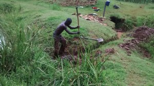 The Water Project:  Digging Trenches