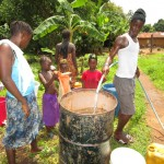 The Water Project: Tombo Bana Community -  Testing