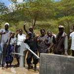 The Water Project: Ilinge Community A -  Finished Well