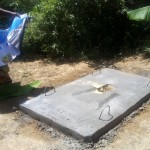 The Water Project: Emakaka Community -  Sanitation Platform
