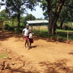 The Water Project: Bukura Primary School -  Rushing Back To School After Lunch