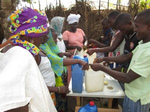 The Water Project:  Hand Washing Session