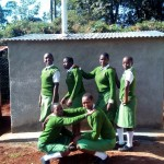 The Water Project : 30-kenya4653-finished-latrines