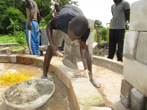 The Water Project:  Bricking The Well