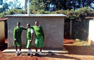 The Water Project : 31-kenya4653-finished-latrines