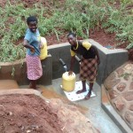 The Water Project: Visiru Community, Kitinga Spring -  Clean Water