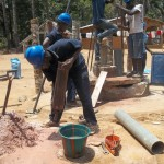 The Water Project: Ponka Village -  Drilling