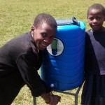 The Water Project: Ebusiloli Primary School -  Hand Washing Stations