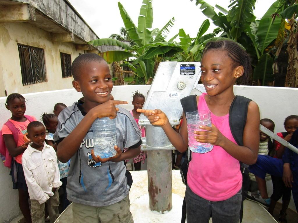 The Water Project : 32-sierraleone5109-clean-water-celebration