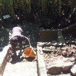 The Water Project: Murumba Community -  Spring Protection Construction