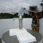 The Water Project: Tholmosor Community -  Pump Installation